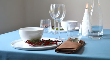 Cotton Christmas tablecloths