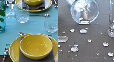 Outdoor table runners