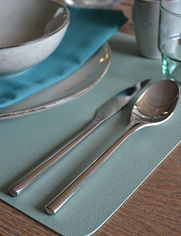 (imitation) Leather Placemats