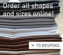 Order all shapes and sizes online! Receive your tablecloth within 5 working days!